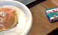 Monogrammed Pancakes